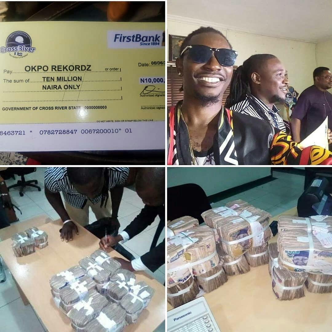 Governor Ayade Gifts Okpo Records 10 Million Naira – HitFM
